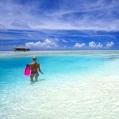 Líbánky na Maledivách v Medhufushi Island Resort