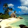 Líbánky na Seychelách v La Reserve