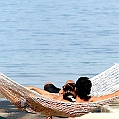Líbánky na Tahiti  v Sofitel Tahiti Maeva Beach